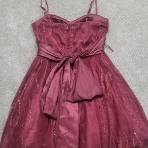 Deb Dresses - Maroon dress